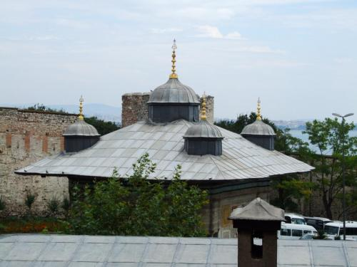 View from a window of Hagia Sophia